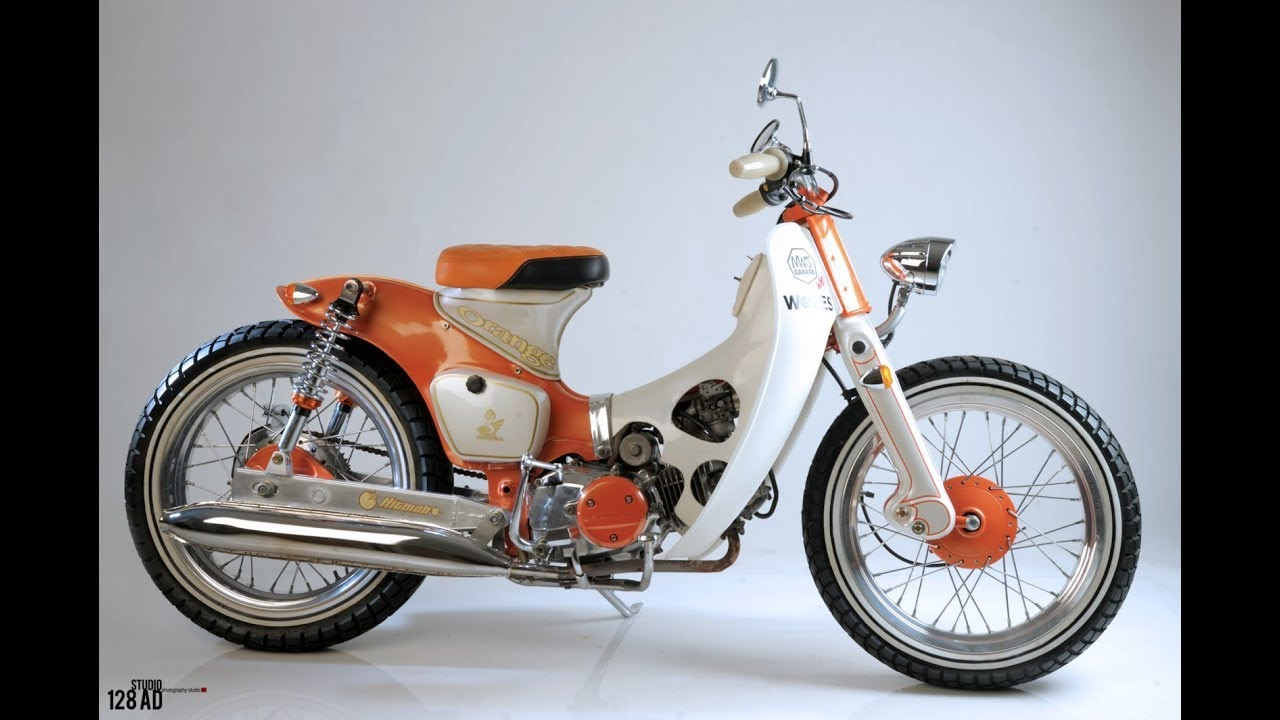 Modifikasi Motor Jadul Honda 70 Kumpulan Modifikasi Motor Scoopy