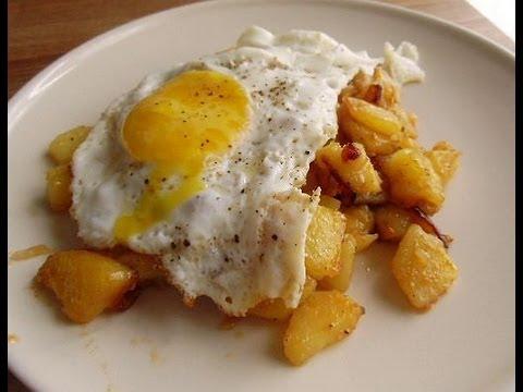 tarif: yumurtalı patates kızartması video [11]