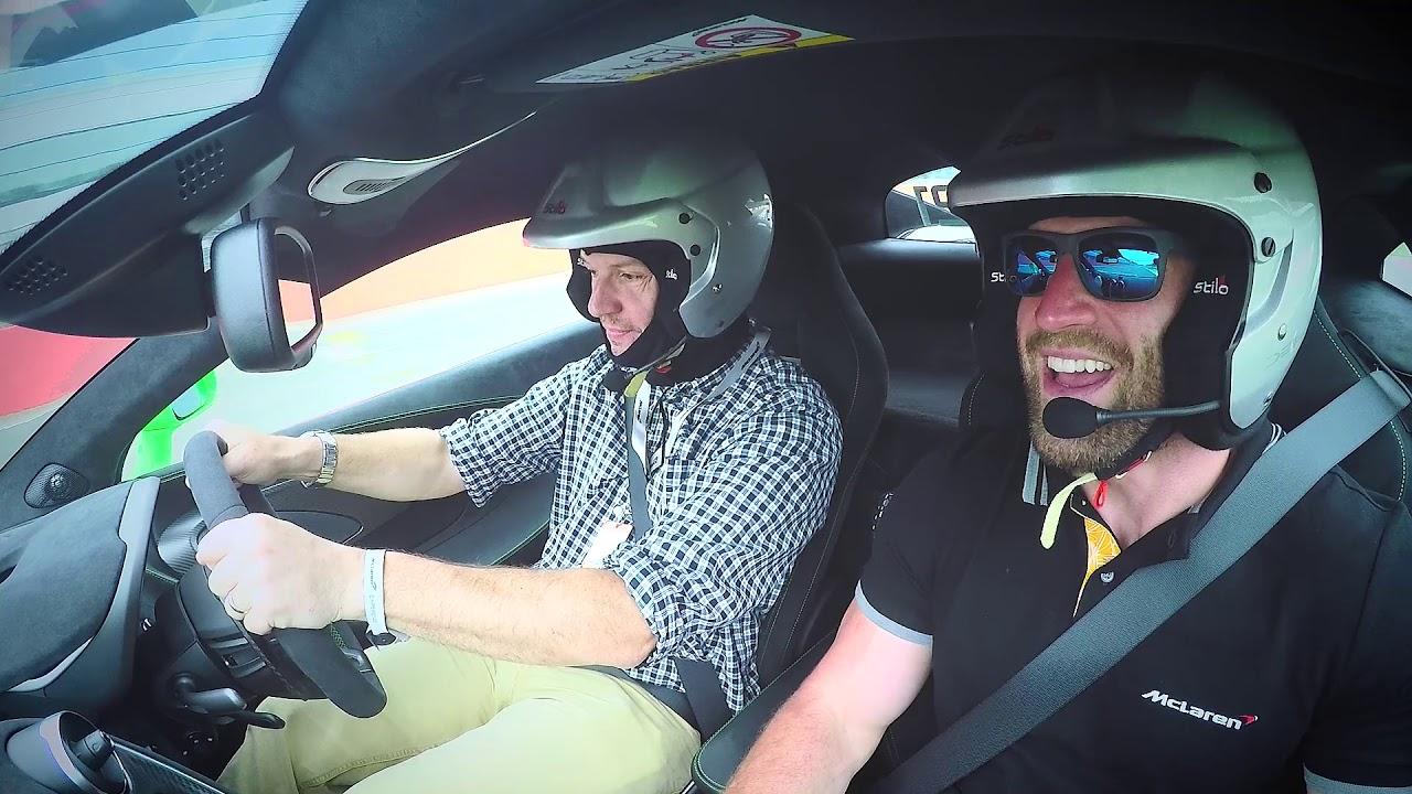Pure McLaren Experience - A first taste of McLaren cars
