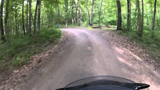 AR 123 part 4/4 with Haw Creek Falls Campground