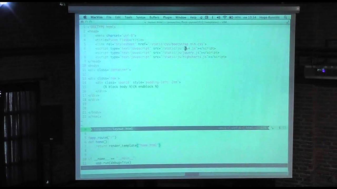 Image from Flask, el microframework que revoluciona la web
