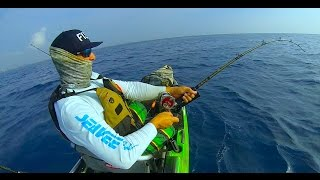Biggest fish that I've ever fought (Never saw it though…) Kayak Fishing Zone