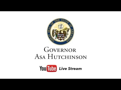 LIVE: Governor Asa Hutchinson Holds News Conference to Announce His Intentions on HB 1249