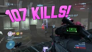 Halo 3 (MCC) Gameplay - 107 kills with Multikills