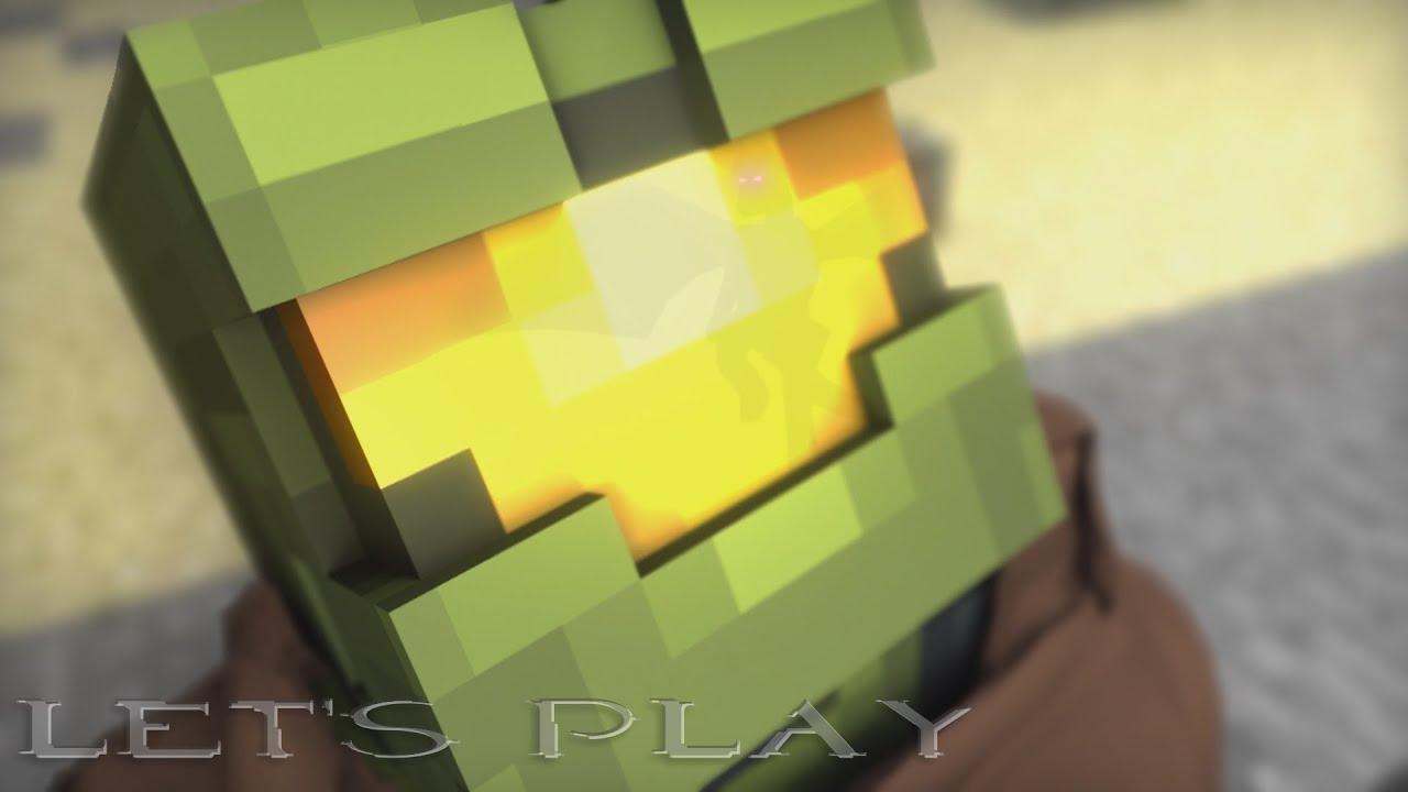 Minecraft Animation Wallpaper Minecraft Halo 5 Trailer Achievement Hunter Fanimation