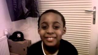 My little brother singing Vybz Kartel summertime