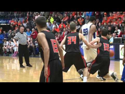 Jackson Center vs Yellow Springs Boys Basketball Regional Final