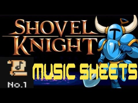 Shovel Knight: Music Sheet Locations