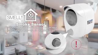 Kguard Smart Home Functional Camera Kit - 4KT01