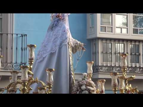 Procesión Gloriosa María Stma. del Rocío Coronada. Málaga 3 junio 2017 (2) B