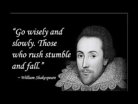 William Shakespeare top 10 famous  Quotes