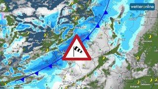 Orkan SABINE im Anmarsch (08.02.2020)