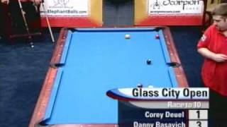 Pro Billiards Glass City Open 9-Ball 2004 - Deuel - Basavich