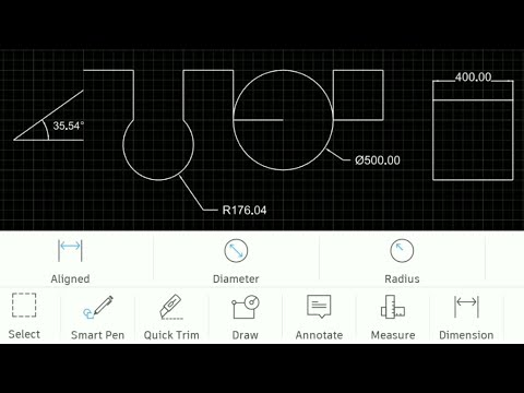 How To Download, Install And Use AutoCAD On Mobile #autocad