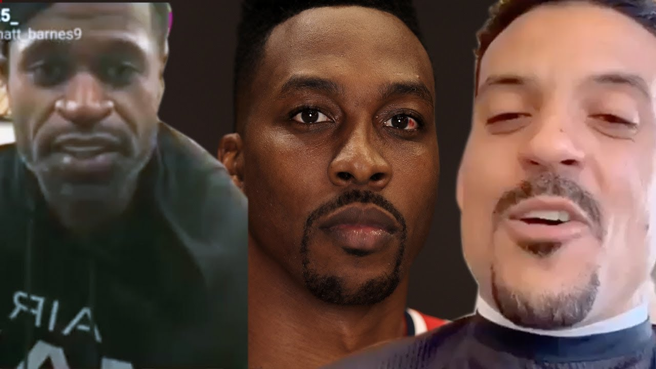 Matt Barnes & Stephen Jackson GO IN On Dwight Howard's Latest Gay Scandal