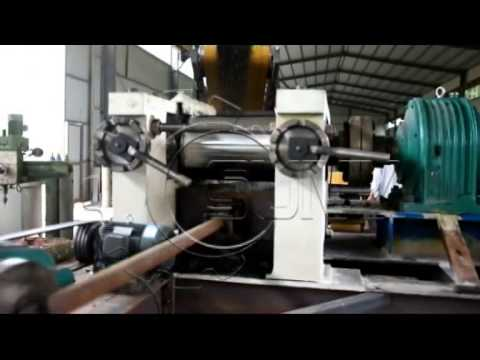 tire recycling machine  youtube