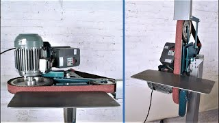 Homemade Multifunctional Adjustable  Belt Sander Grinder