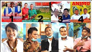 Ngobrol Kampanye Bareng Tim Pemenangan Pilkada 9 Desember 2020 di Kab. Sumba Barat, NTT.