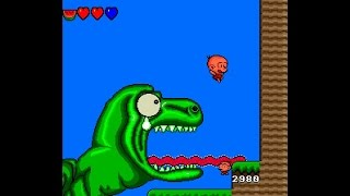 Bonk's Adventure ... (TurboGrafx-16) Gameplay