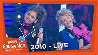 Anna & Senna - My Family - The Netherlands - 2010 Junior Eurovision Song Contest