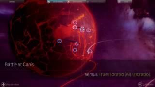 Endless Space 2 (Alpha 0.2.5) - Lumeris vs. Horatio (Advanced Perfected Slugs)