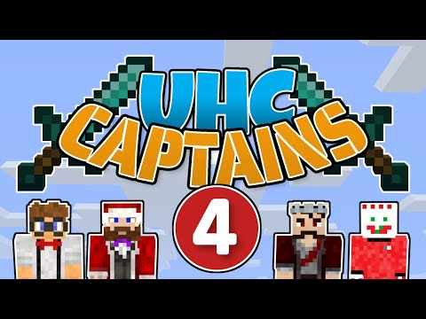 UHC Captains #4 - Man Down! | Minecraft 1.15