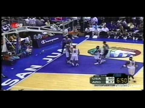 Allen Iverson Highlights vs. Manu Ginobili Argentina *Team USA 2003