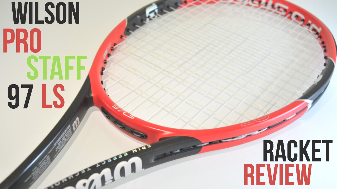 wilson pro staff 97 ls spin effect racket review test. Black Bedroom Furniture Sets. Home Design Ideas