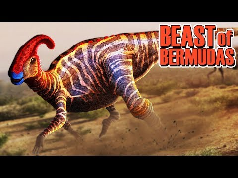BEAST OF BERMUDAS = PARASAUROLOPHUS E PTERO NO ESTILO (GAMEPLAY PT/BR) FT SPARTAN