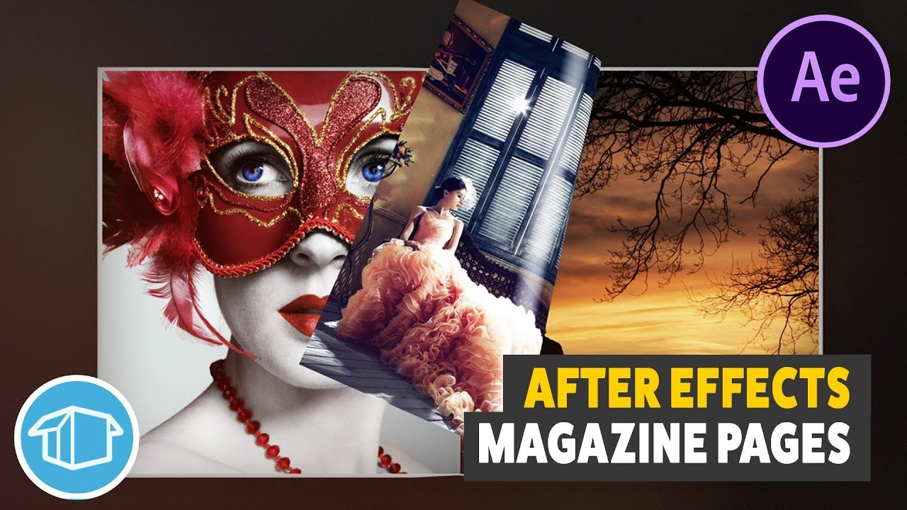 magazine page flip tutorial for adobe after effects youtube. Black Bedroom Furniture Sets. Home Design Ideas