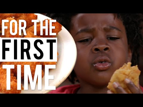 Kids Try Vegan Soul Food 'For the First Time' | All Def Comedy