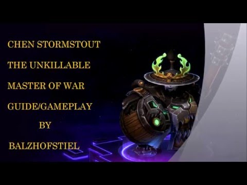 Chen Stormstout the Master of War