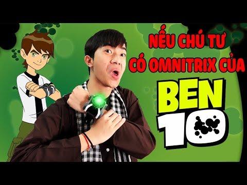Nếu chú Tư CrisDevilGamer có Omnitrix của Ben 10 thumbnail