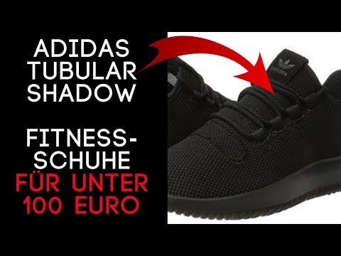Adidas Tubular SHADOW Herren Schwarz /  Super Outdoor Fitnessschuhe Herren unter 100 € auf Amazon!