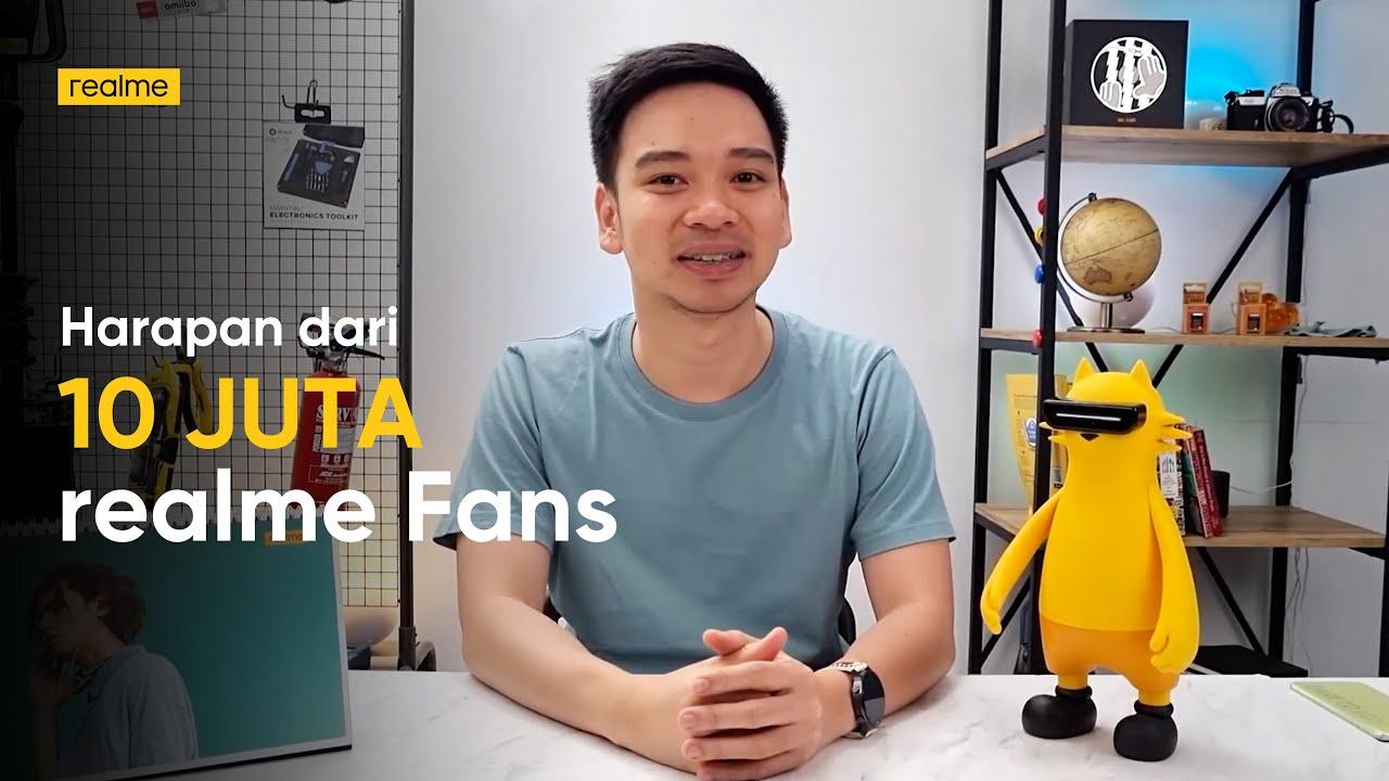 realme Indonesia: Harapan dari 10 Juta realme Fans