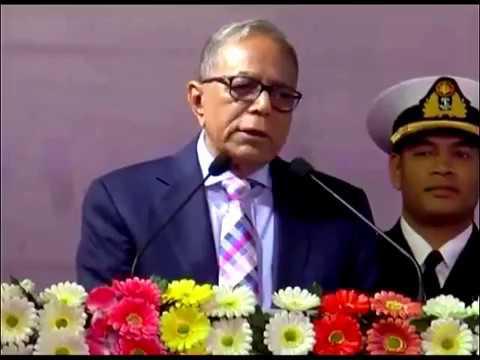 what a speech by bangladeshi president  !!!