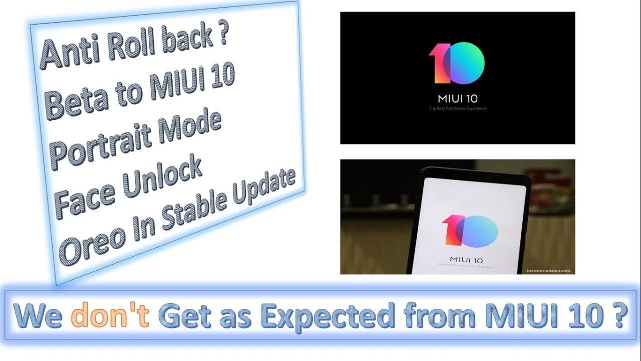 OREO update in stable update MIUI 10    Redmi 5    Redmi 5A