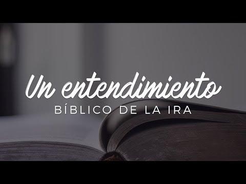Un entendimiento bíblico de la ira - Pastor Luis Méndez