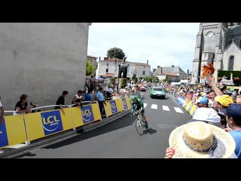 Europcar - Last 450 meters in TTT, Tour de France 2011