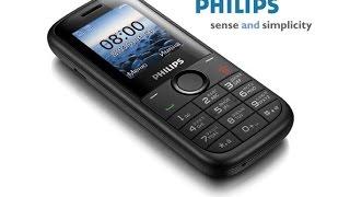 Philips E120 обзор(Видеообзор смартфона Philips E120 Купить смартфон Philips E120 http://quke.ru/shop/UID_10870_philips_e120_black.html Краткое описание и харак..., 2014-08-04T13:22:52.000Z)