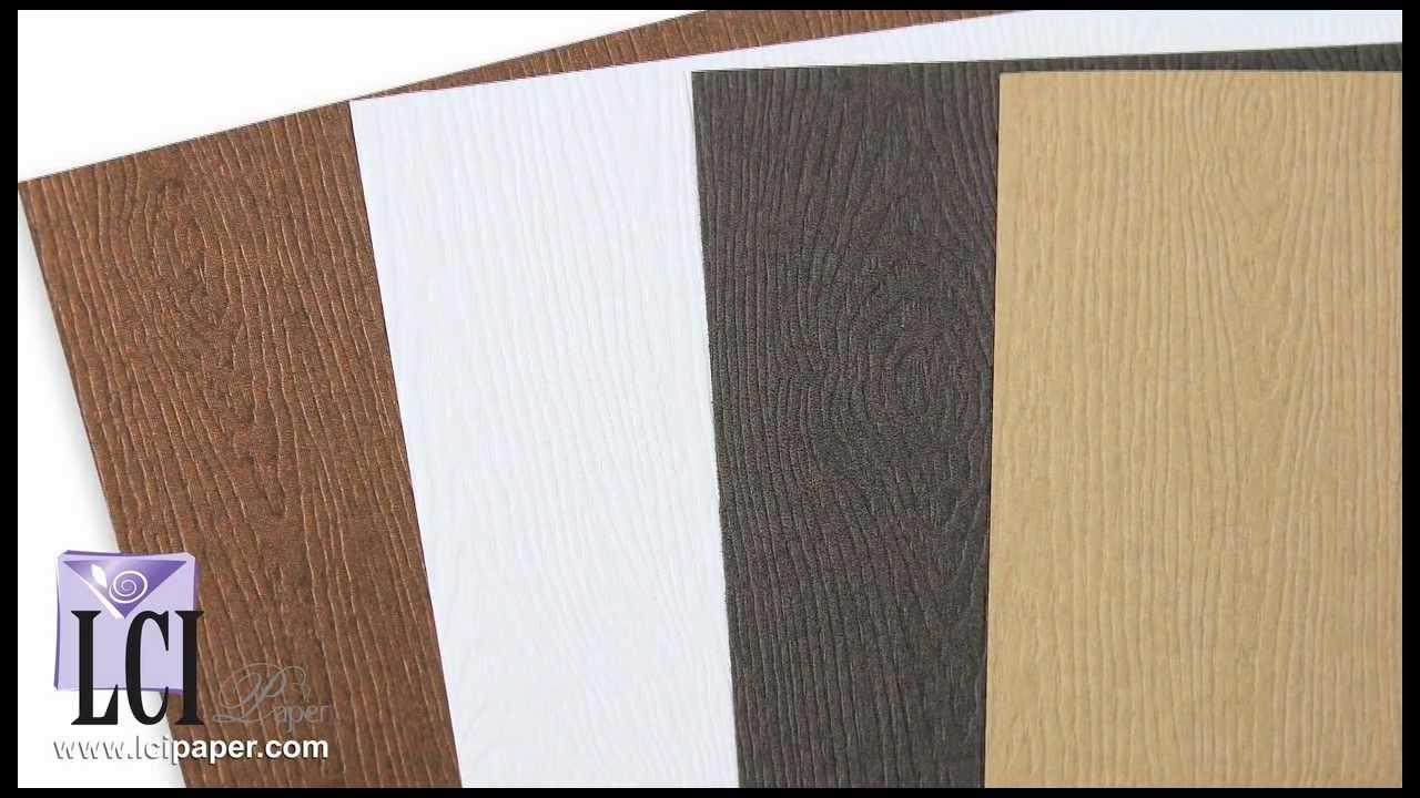 A Closer Look At Gmund Savanna Wood Grain Paper Youtube