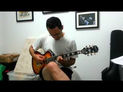 Ostrich guitar