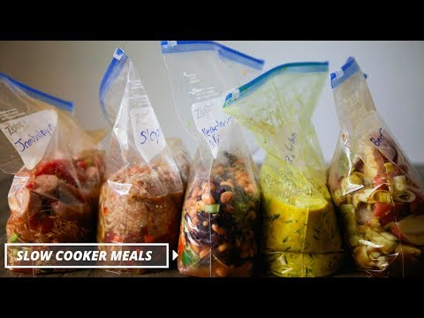 Slow Cooker Meal Prep With My Healthy Dish