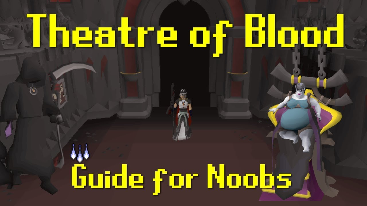 OSRS TOB (Theatre of Blood) Guide for Learners