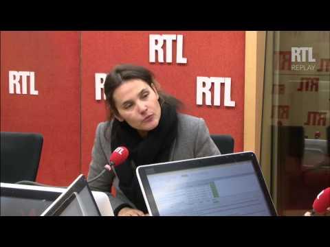 Virginie Ledoyen, invitée de RTL Midi le 22 mars 2015 - RTL - RTL