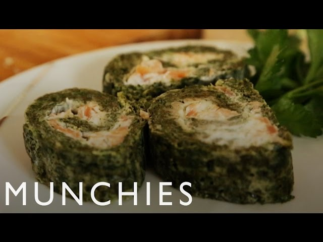 How To Make Microwave Salmon Roulade