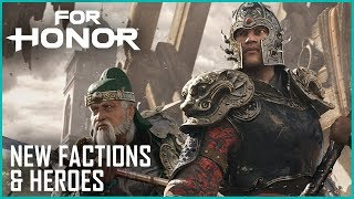For Honor: Marching Fire Brings New Faction, Heroes, and Breach Mode   News   Ubisoft [NA] thumbnail