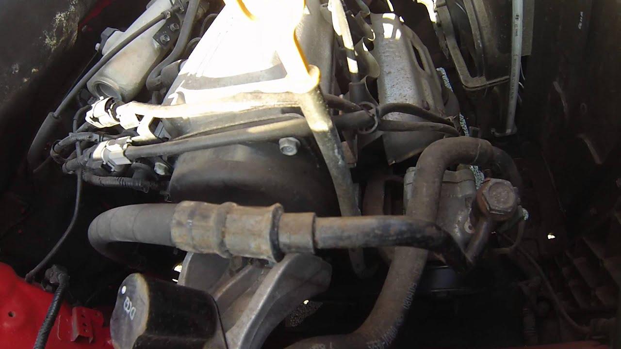 Keilrippenriementausch Hyundai Getz 1 1