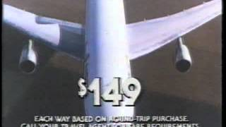 Eastern Airlines 1980 TV commercial