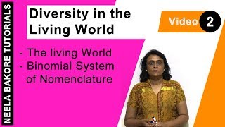 Diversity in the Living World - The living World - Binomial System of Nomenclature